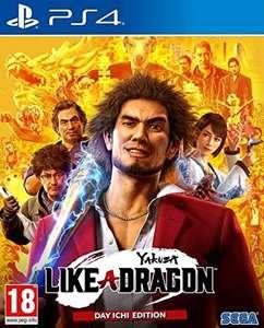 Yakuza: Like a Dragon Day One Edition - PS4 (Amazon)