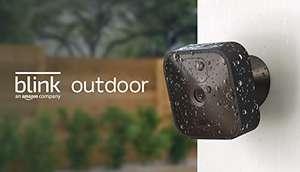 Blink Outdoor   Cámara de seguridad HD inalámbrica y resistente a la intemperie, con 2 años de autonomía, detección de movimiento