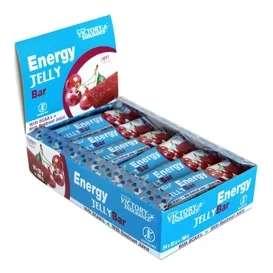 24 Barritas Victory Endurance Energy Jelly Bar Cereza