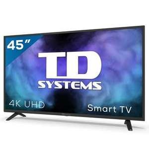 "Smart TV 45"" 4K UHD, Android 9.0, HbbTV, HDR10 TD Systems K45DLJ12US-S"