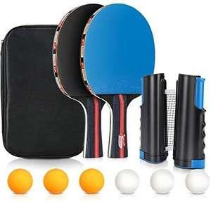 Juego de Tenis de Mesa, Tencoz Palas de Ping Pong y 6 pelotas