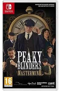 Peaky Blinders Mastermind - Switch (Amazon y Mediamarkt)