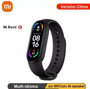 Xiaomi Mi Band 6 por 27,98€ Usando Promoción Verano + código + cupón 2€ por compras +10€.