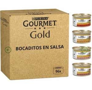 Pack de 96 latas de Purina Gourmet Gold