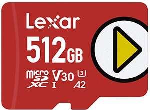 MicroSD LexarPlay: 128GB por 15,36€, 256GB por 29,1€ (26€ Student), 512GB por 55,5€ (50€ Student)...