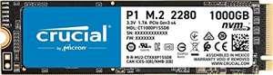 SSD NVMe Crucial P1 de 1 TB