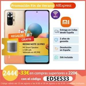 Redmi Note 10 PRO 6GB/8GB 128GB + regalo de Mi Smart Speaker