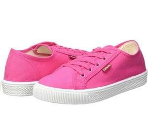 Zapatillas de mujer Levi's Malibu Beach S Fucsia (Talla 41 + otras tallas y colores a 22,90€)