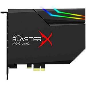 Creative Sound BlasterX AE-5 Plus Tarjeta de sonido para juegos alta resolución
