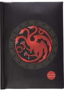 Libreta con luz con diseño de Targaryen Game Of Thrones