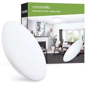 Plafón LED de techo Novostella blanco frío 18W