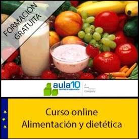 Curso gratis de dietética y nutrición