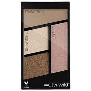 Wet n Wild - Color Icon Eyeshadow Quads - Pequeña Paleta de Sombras de Ojos Vegan