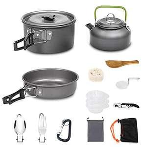Kit de 15 Utensilios de Cocina para Camping/Acampadas.... por solo 13.99€