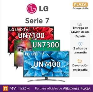 """TV LG 55"""" 4K serie 7 HDR 10 Pro IA control por voz 3 modelos desde 396€ [desde España]"""