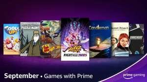 GRATIS :: Knockout City, Sam & Max Hit the Road, Candleman y otros | Septiembre | Amazon Gaming |