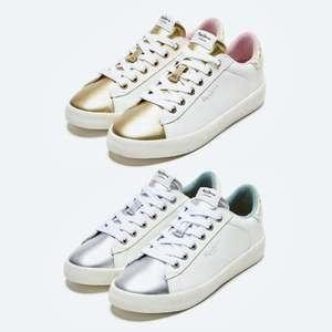 Zapatillas Pepe Jeans Kioto Fire   Silver o Gold   Tallas 36 a 41