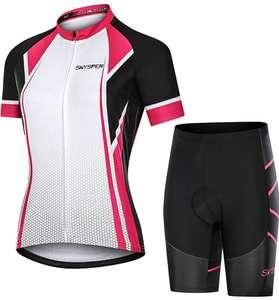 Maillot y pantalones cortos culote mujer de ciclismo transpirables (3 modelos a elegir)