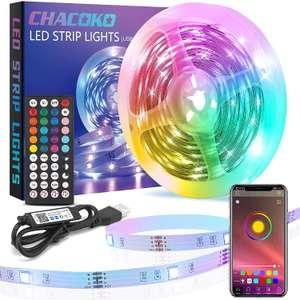 Tira LED 10m RGB 5050 solo 6.7€
