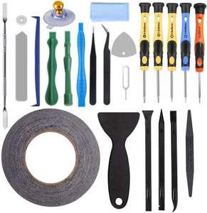 Kit de herramientas 24 en 1 para Móviles, Multimedia u Otros Pequeños Electrodomésticos