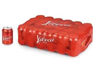 Pack de 24 latas de 33cl de cerveza Xibeca