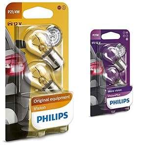 Al precio mínimo Philips Automotive Lighting 12594B2 Vision Bombilla Señalización P21/4W + 12498Vpb2 Visionplus Lampara Señalización