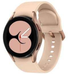 Reloj Samsung Galaxy Watch 4, Color Oro. Smartwatch con Bluetooth de 40 mm