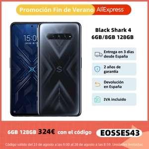 Black Shark 4 6GB 128GB (Desde España)