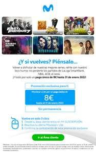 Movistar Lite a 8€ hasta enero 2022