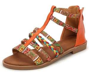 Sandalias de verano para mujer tallas de la 37 a la 42 [dos modelos a elegir multicolor o tonos azules]