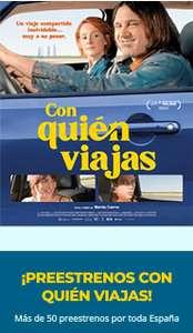 Preestreno Gratis | Película: Con Quién Viajas
