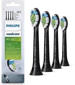 Philips Pack con 4 cabezales para cepillos Sonicare, color negro