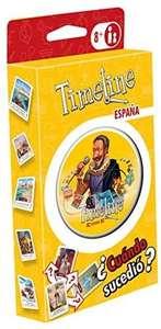 Timeline: España Juego de Cartas en Español