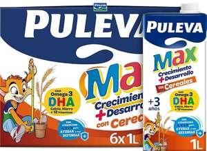 [Pack 6x1 l.] Puleva Leche de Crecimiento y Desarrollo con Cereales. Tb sin Gluten