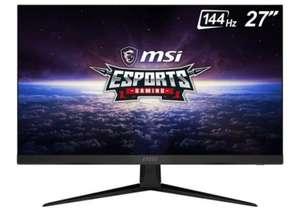 "Monitor Gaming MSI Optix - 144Hz - IPS - 27"" - 1ms"