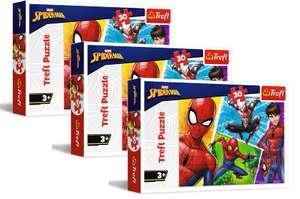 3 Puzzles Spiderman 30 piezas