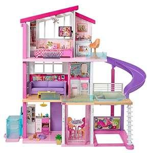 Barbie - Casa de Muñecas con Accesorios y Ascensor