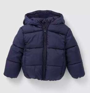Abrigo acolchado capucha Unit bebés tallas desde 12 meses a tres años. Se aplica Promoción Fin Verano + cupón-2€ (bajo abrigo)