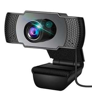 Webcam con micrófono 1080p. Cupón 30%