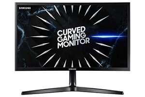 Samsung C24RG52FQR - Monitor Curvo de 24'' FHD (1920x1080, 4ms, 144 Hz, FreeSync, Flicker-Free, VA, 1800R, 250 cd/m², HDMI, Base en V)