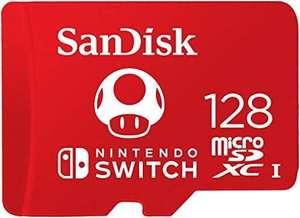 3 tarjetas oficiales Nintendo Mario champiñon 128gb, están al 3x2,13.32 la unidad.