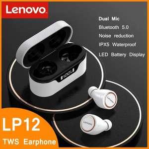 Lenovo-auriculares LP12 TWS
