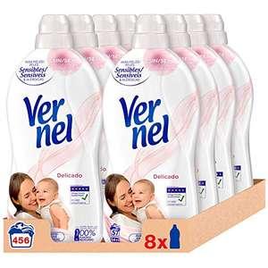 Pack 24 Vernel Suavizante Concentrado para la Ropa Delicado 57 Lv (3x2 + Compra Recurrente)