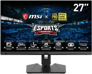 """Monitor MSI 27"""" FHD 1ms 144Hz solo 225€"""