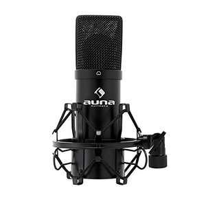 Auna HK-Mic-900-B - Micrófono para estudio de condensado Reacondicinado.