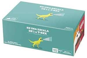 Exploding Kittens En una Escala de 1 a T-Rex - Juego de Cartas en español