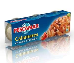 Pescamar Calamares En Salsa Americana 3 Latas 80 g