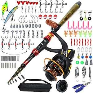 Kit Completo de Pesca