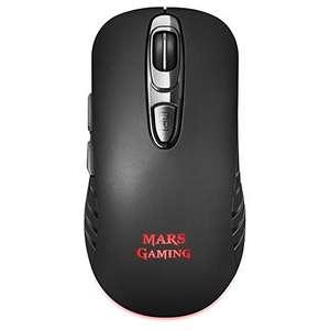 Ratón marca Mars Gaming inalambrico y 3200DPI