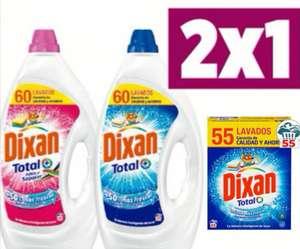 COMPRA 2 Y PAGA 1 :DIXAN Detergente Líquido o en Polvo para Lavadora [5.39€ Und.]